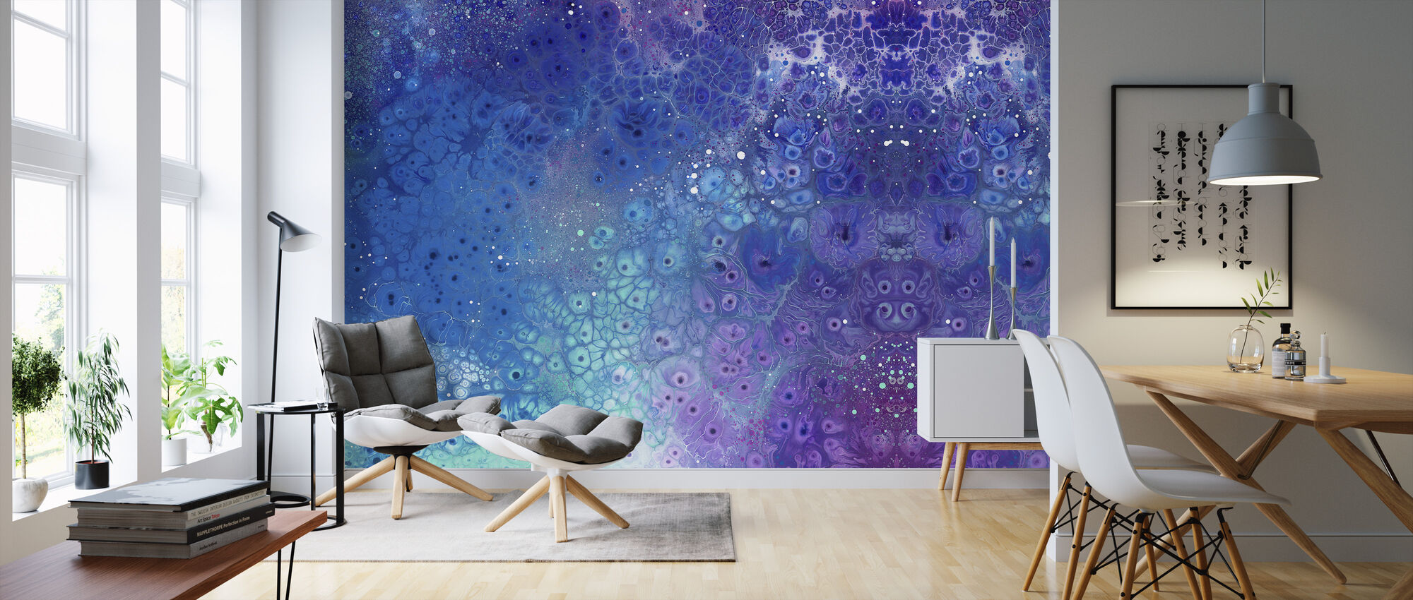 AURA Aquatic - Behang - Woonkamer