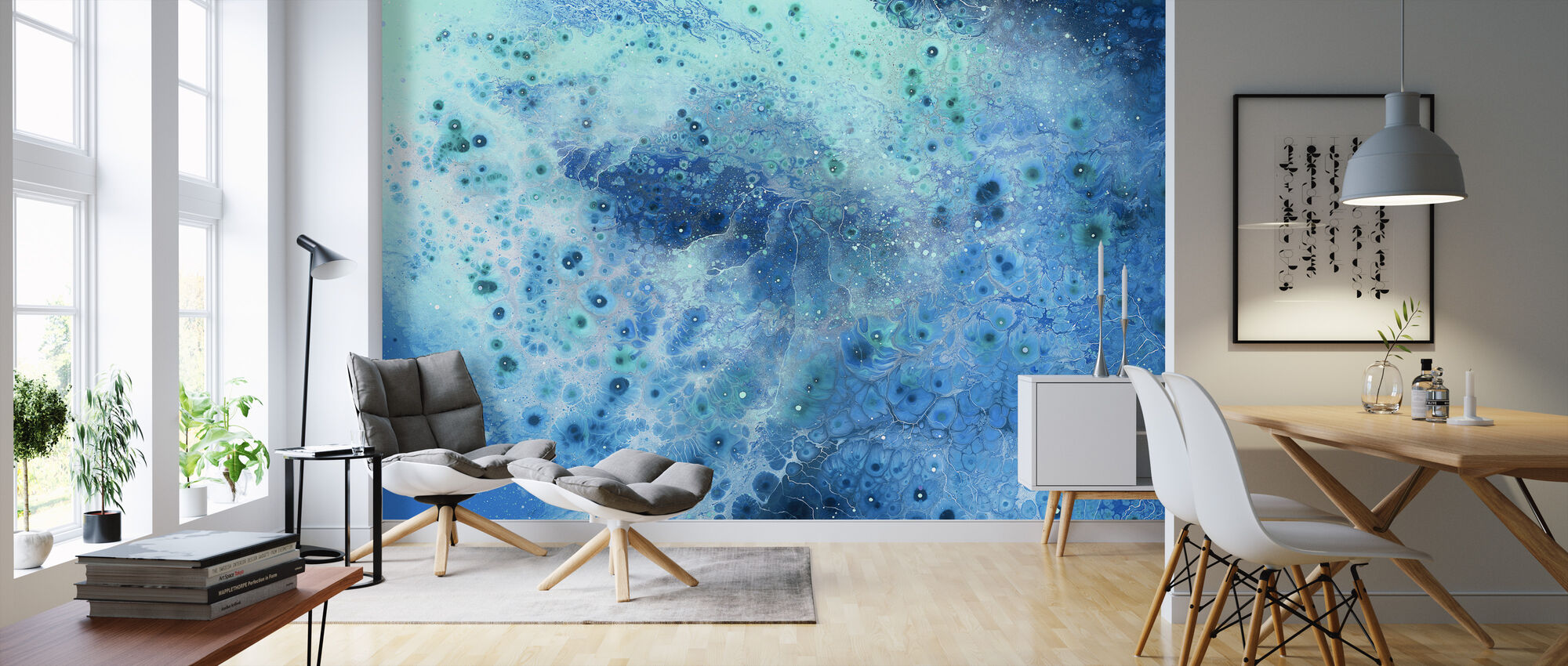 AURA Super Nova - Wallpaper - Living Room