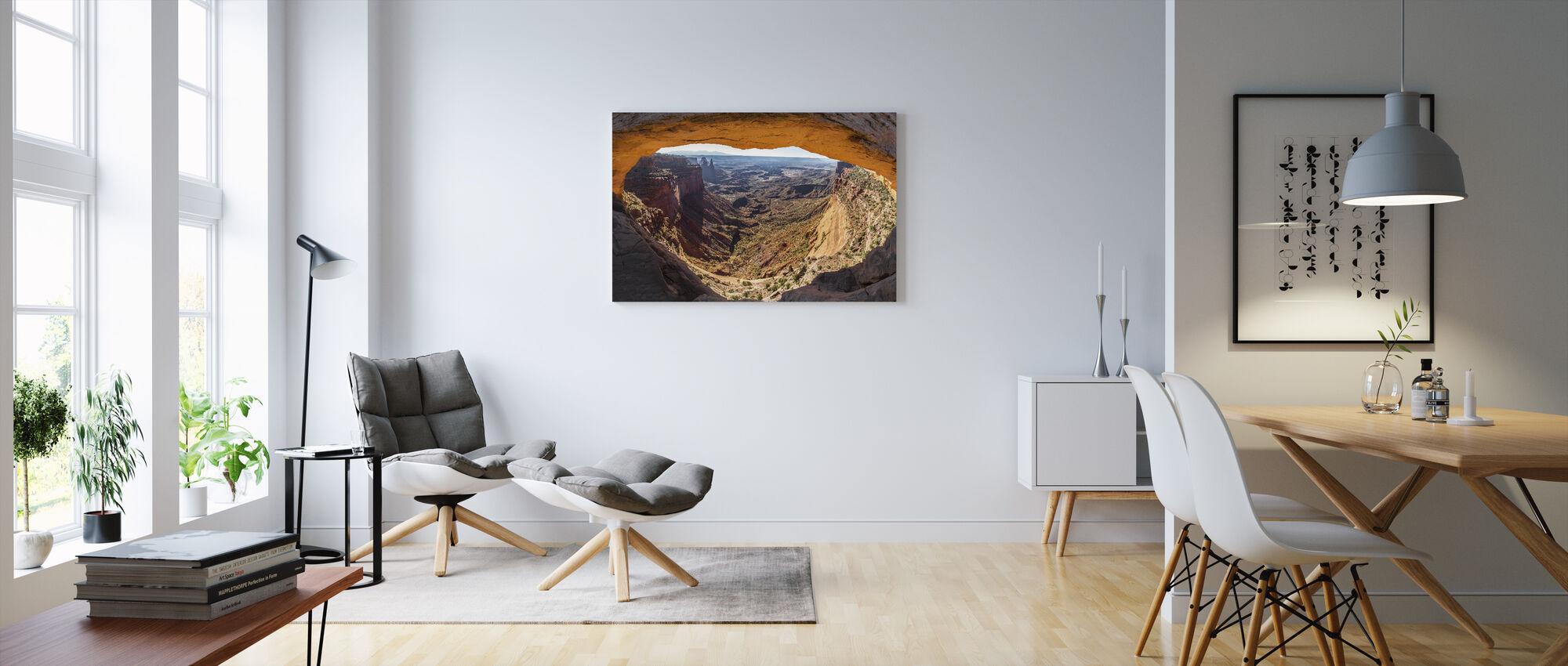 Mesa Arch - Canvastaulu - Olohuone