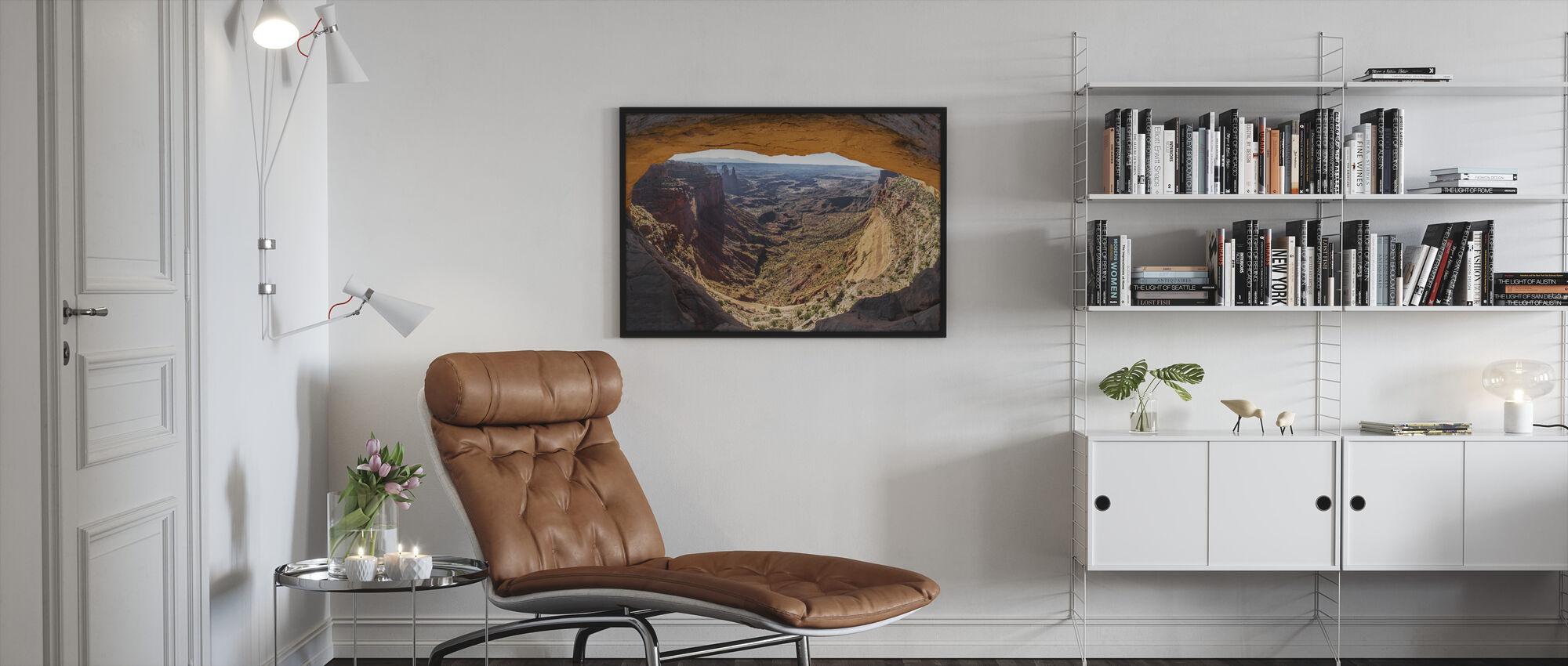 Mesa Arch - Framed print - Living Room