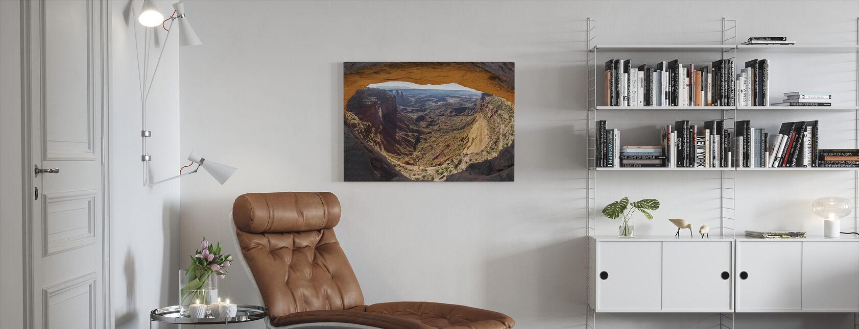 Mesa Arch - Billede på lærred - Stue