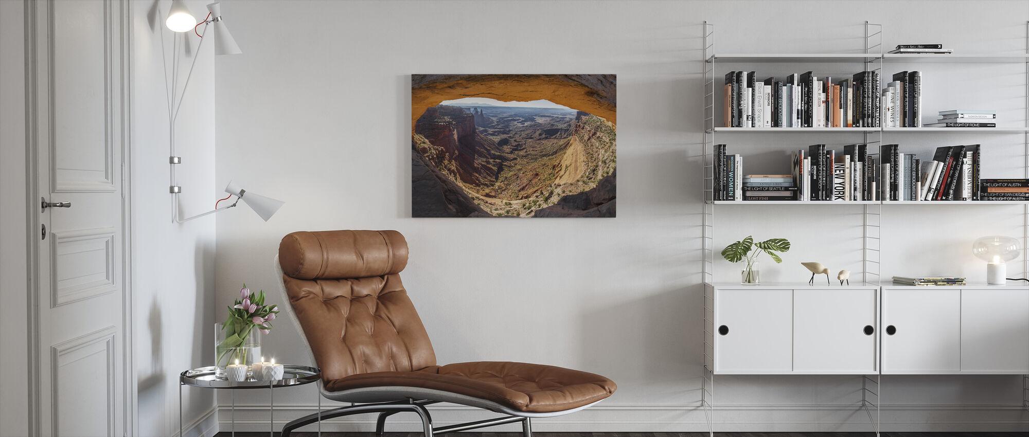 Mesa Arch - Canvas print - Living Room
