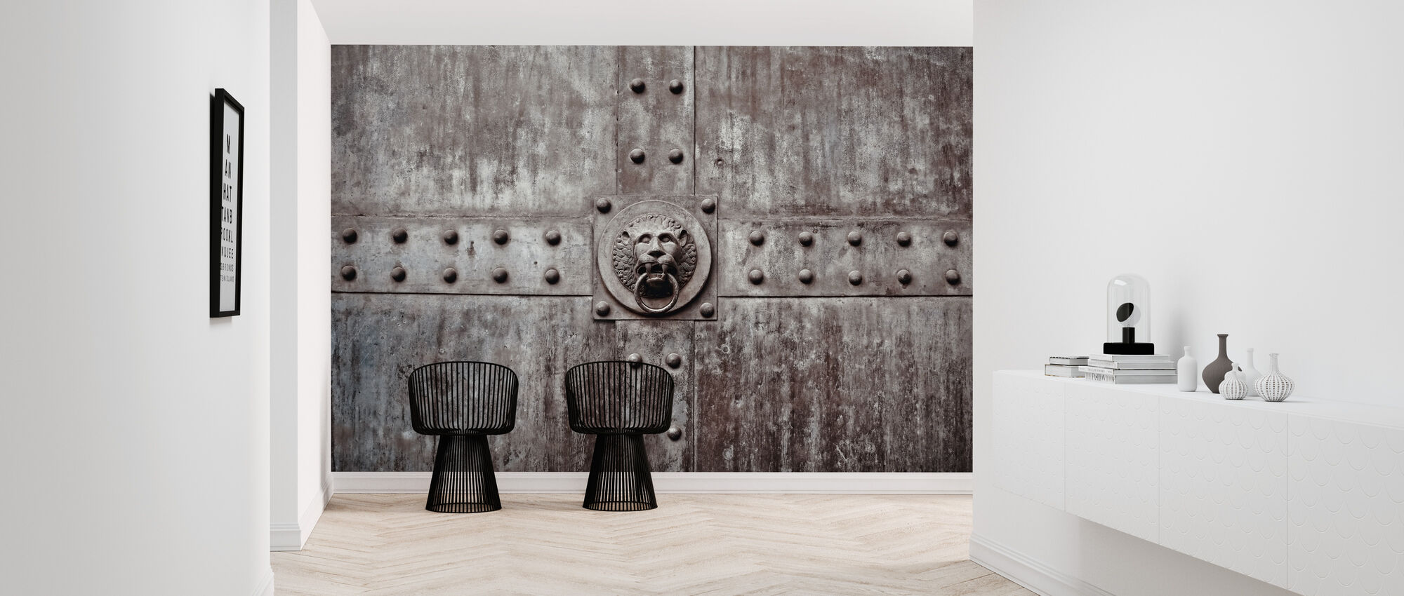 The Door Knocker - Wallpaper - Hallway