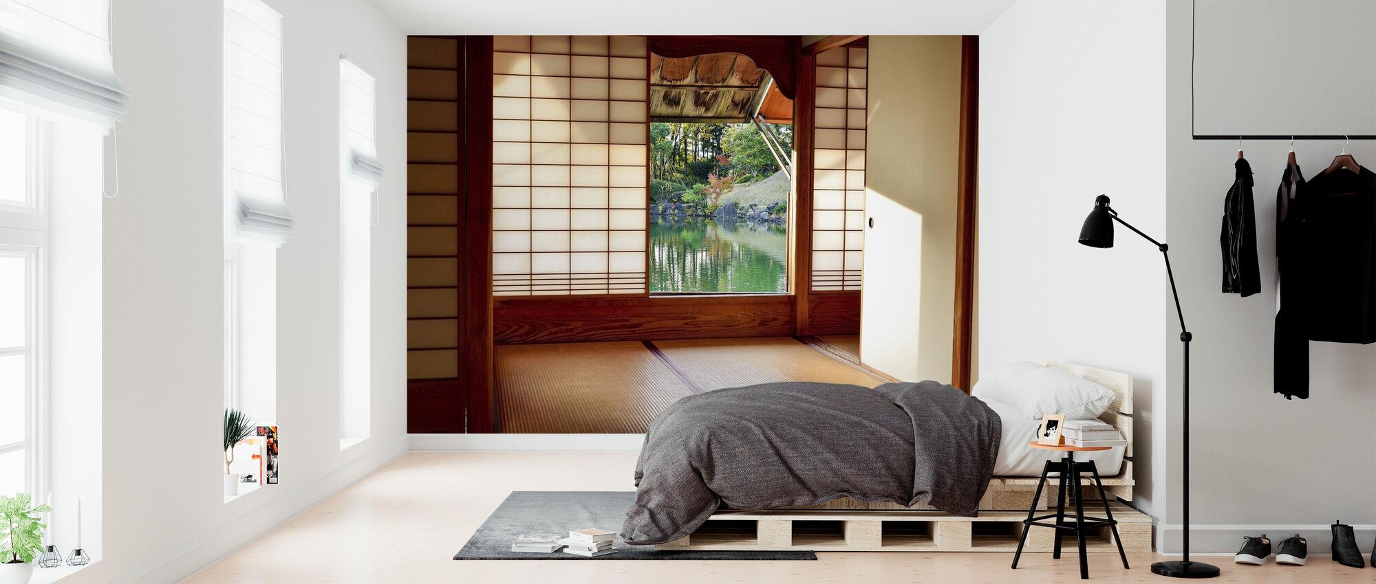 Japanska rum - Tapet - Sovrum