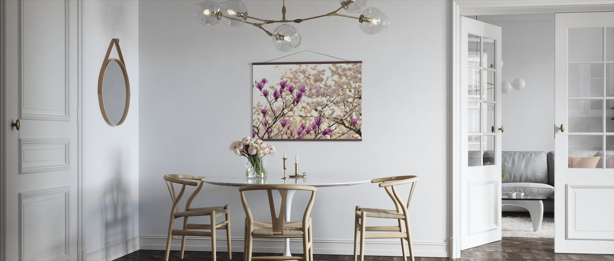 Magnolia Flowers - Poster - Kitchen