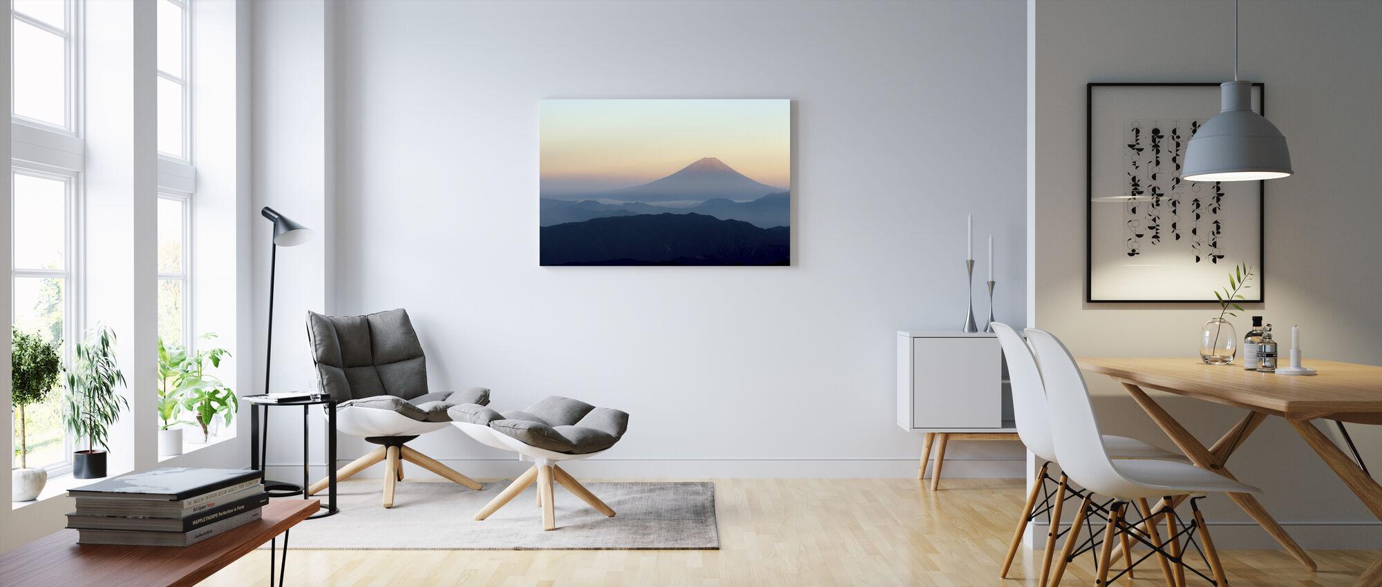 Mt. Fuji - Canvas print - Living Room