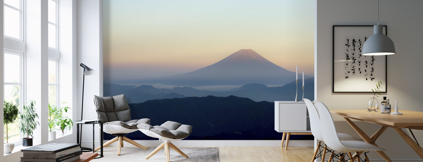 Mt. Fuji - Wallpaper - Living Room