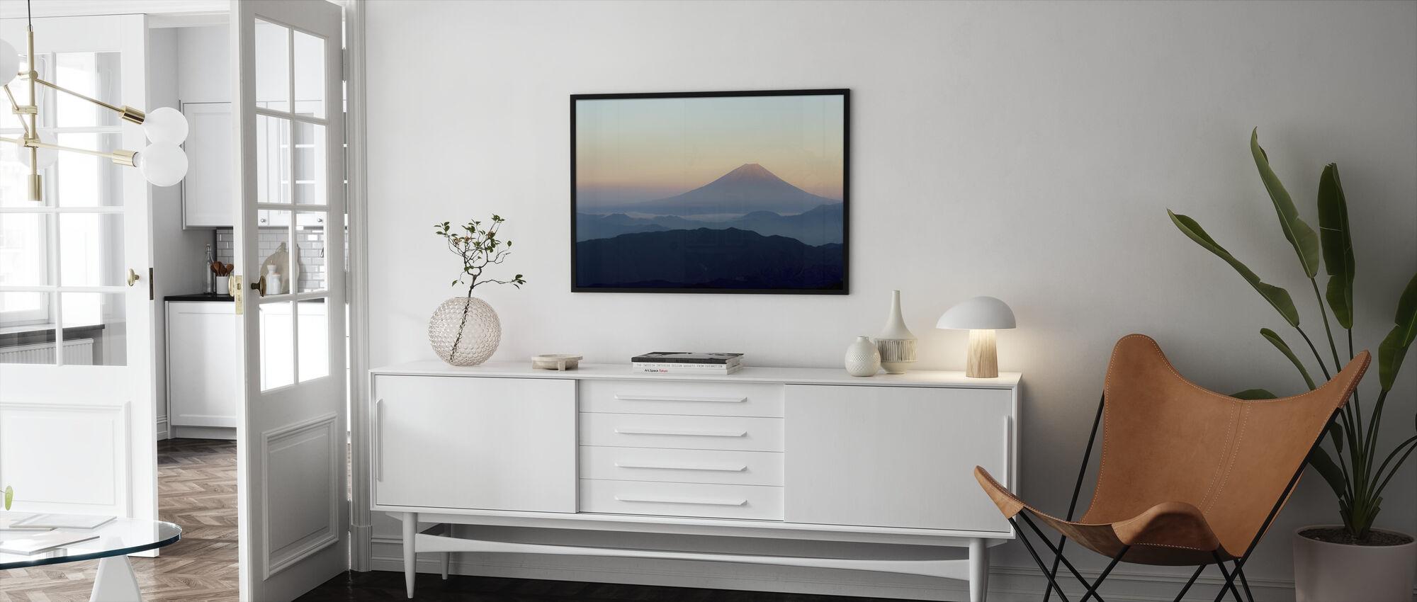 Mt. Fuji - Framed print - Living Room