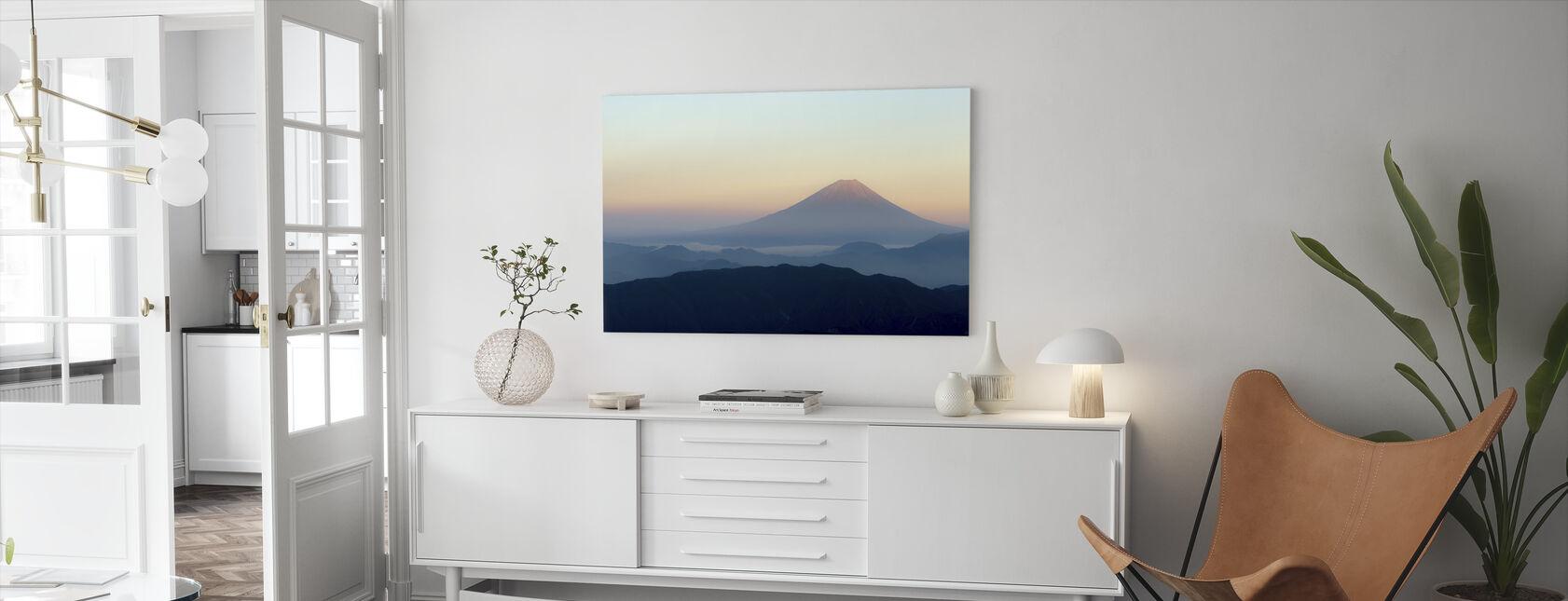 Mt. Fuji - Canvastaulu - Olohuone