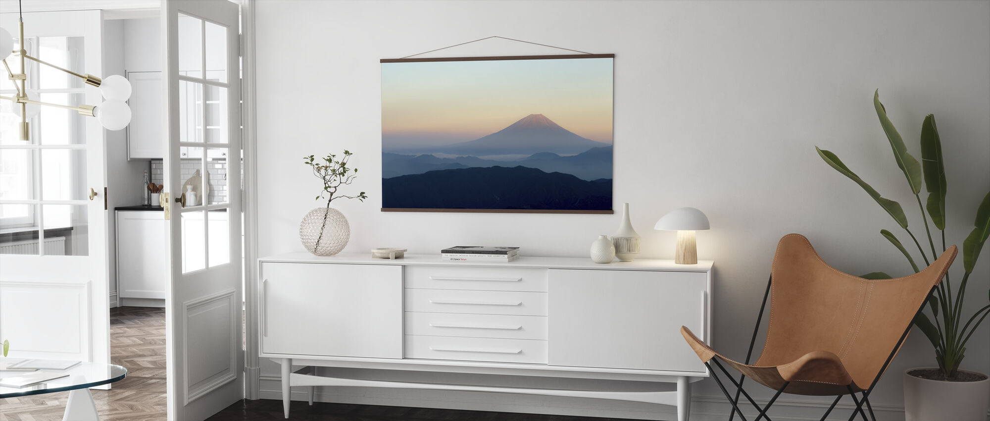 Mt. Fuji - Poster - Living Room