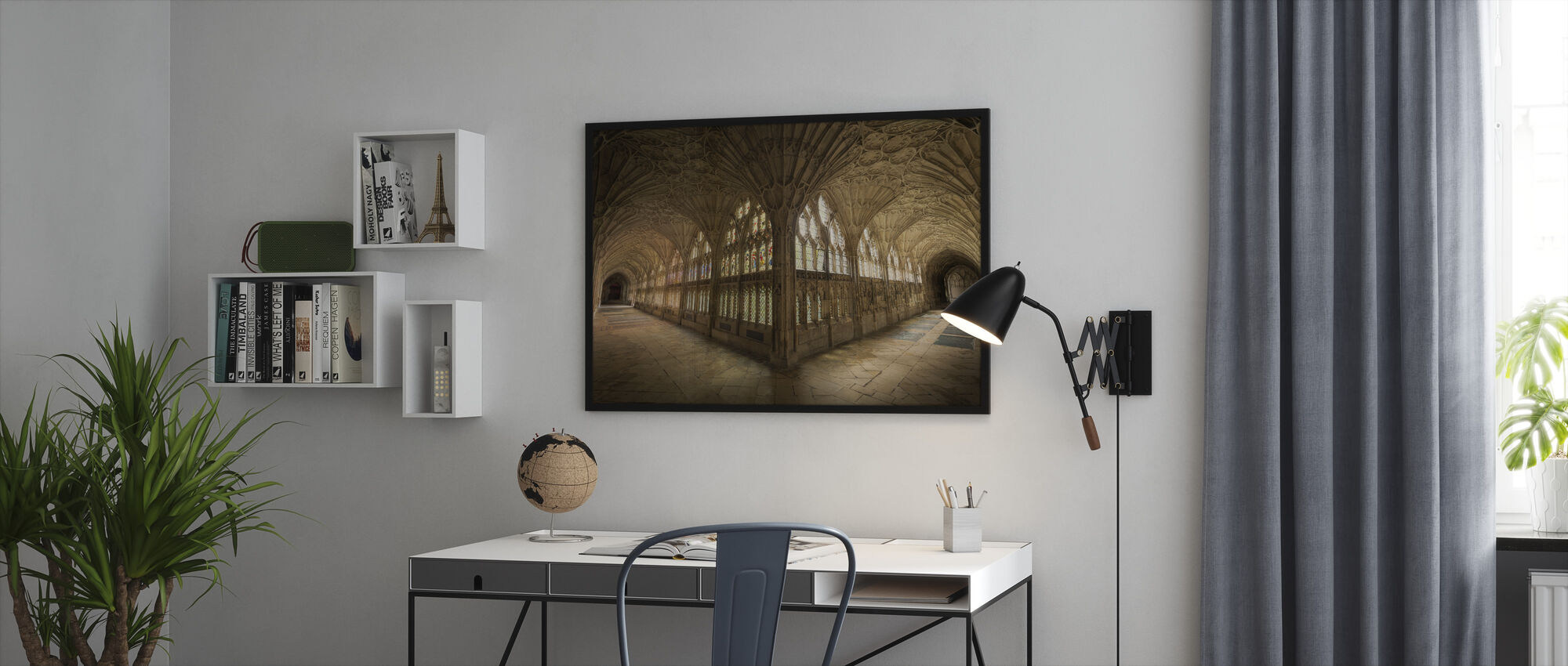 Abbey - Framed print - Office
