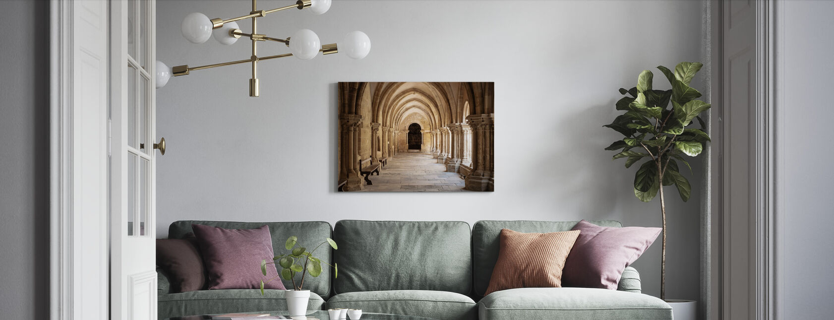 Hallway - Canvas print - Living Room