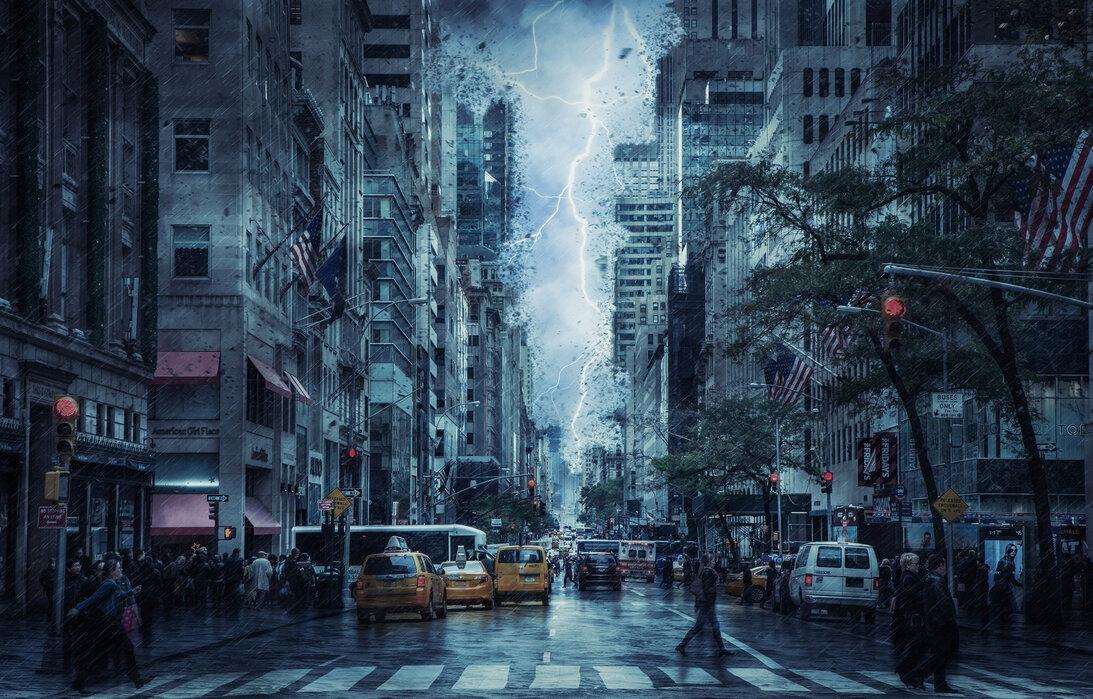 Le Spectre Jaune d'Ivy Town Storm-in-the-city