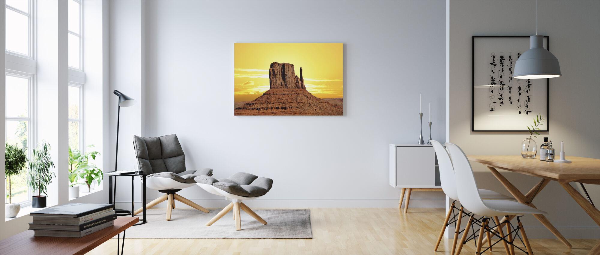 Rochen aavikko - Canvastaulu - Olohuone