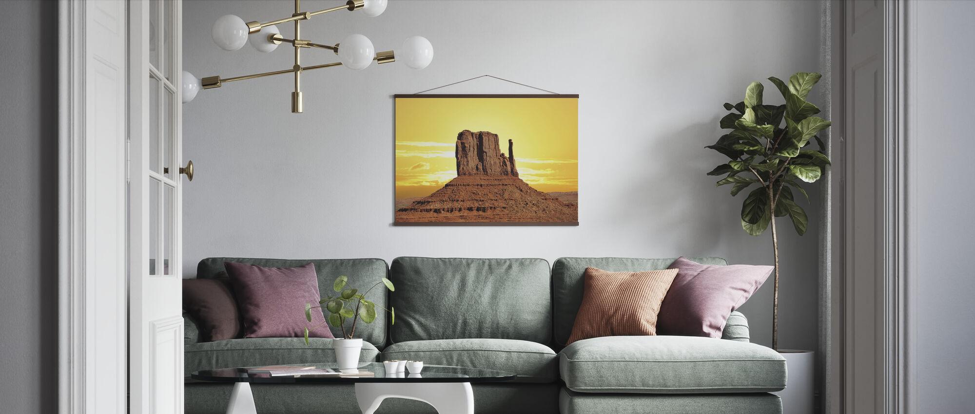 Roche Desert - Poster - Living Room