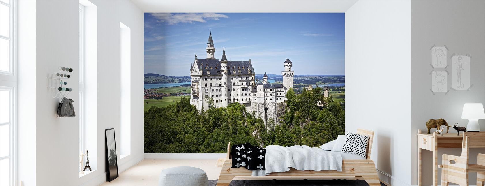 Neuschwanstein Disney Castle - Wallpaper - Kids Room