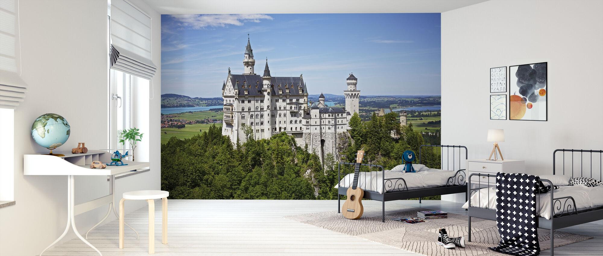 Neuschwanstein Disney Castle High Quality Wall Murals With