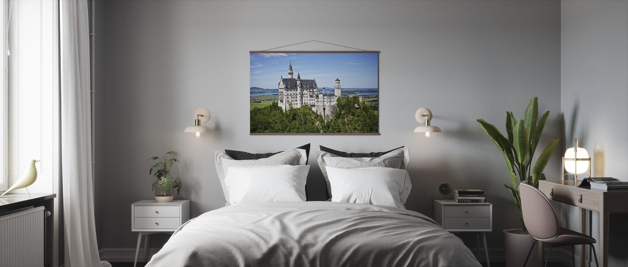Neuschwanstein Disney Castle - Poster - Bedroom