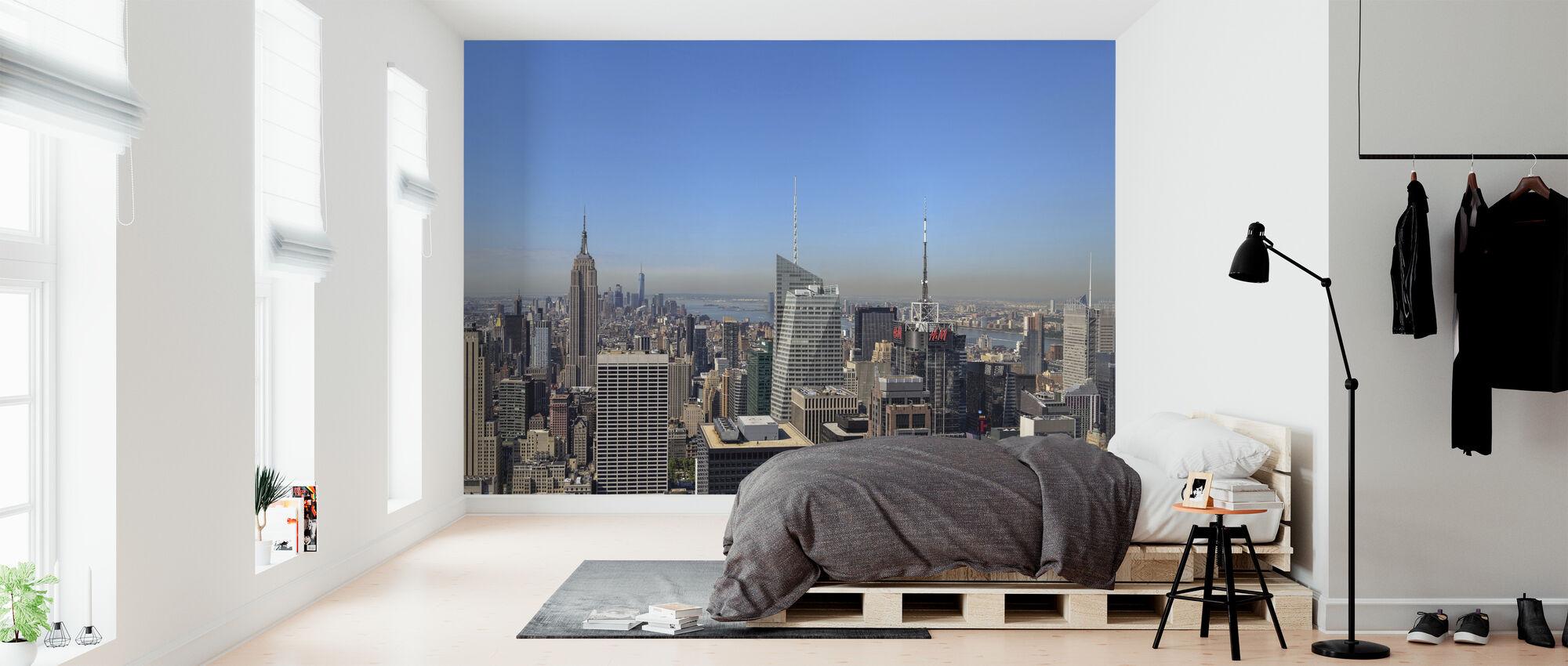 Manhattan New York - Tapet - Sovrum