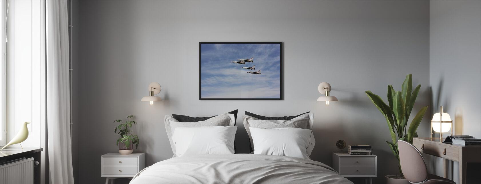 Jet Fighter Formation - Framed print - Bedroom