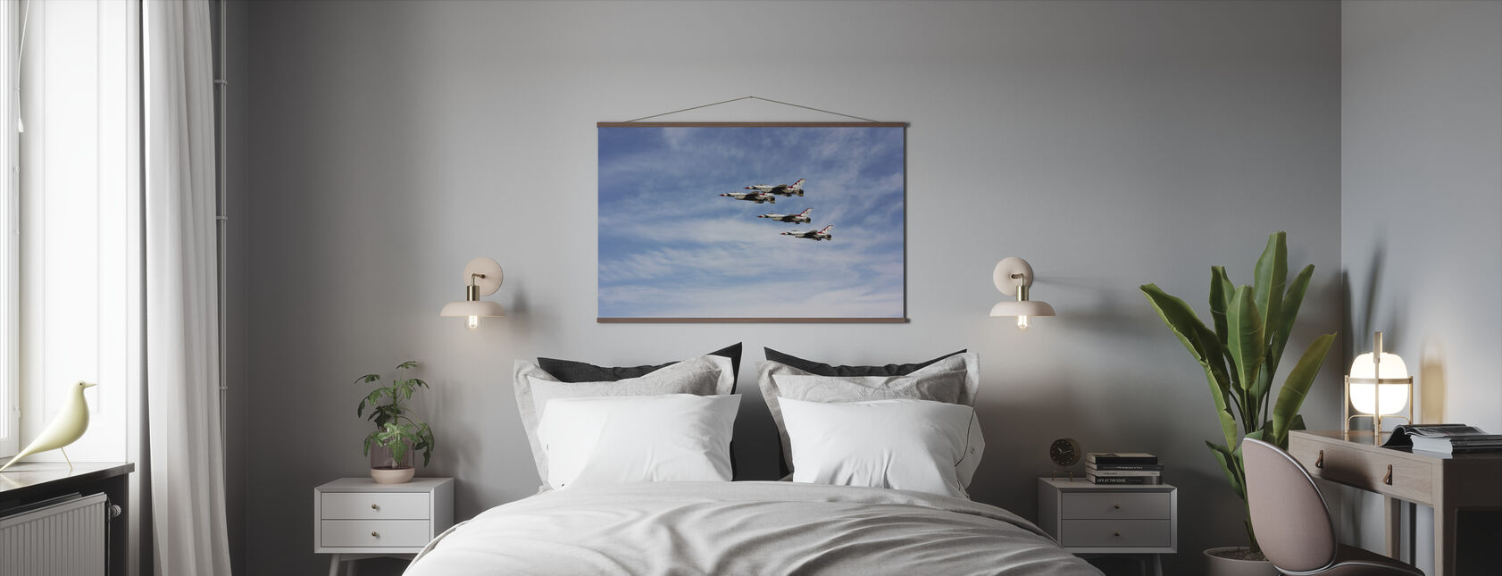 Jet Fighter Formation - Poster - Bedroom