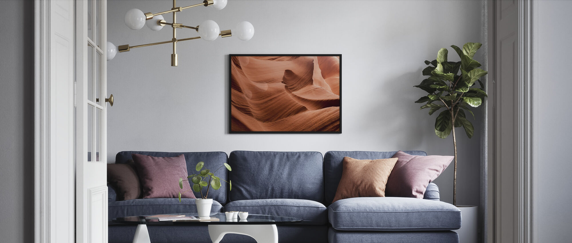 Antelope Canyon - Framed print - Living Room