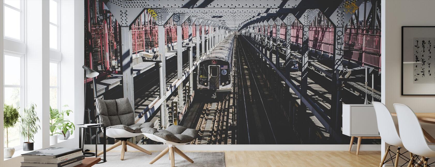 Junan kuljetus - Tapetti - Olohuone