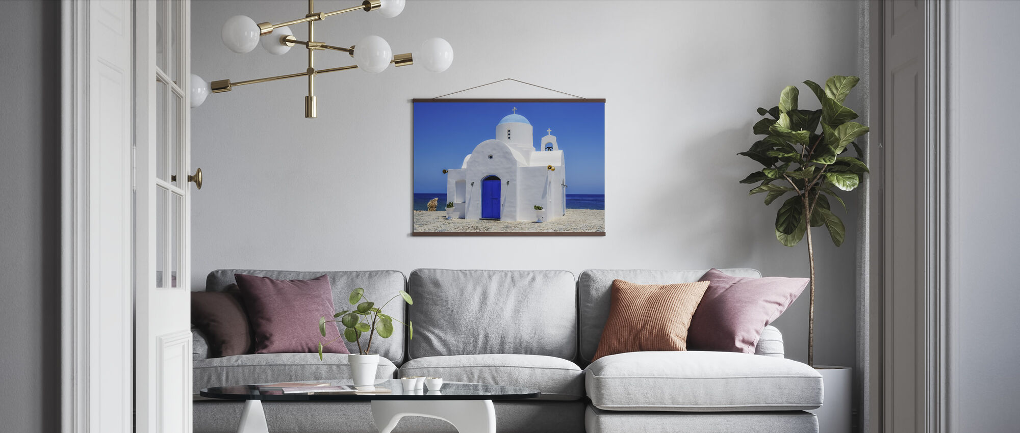 Protaras Church - Poster - Living Room