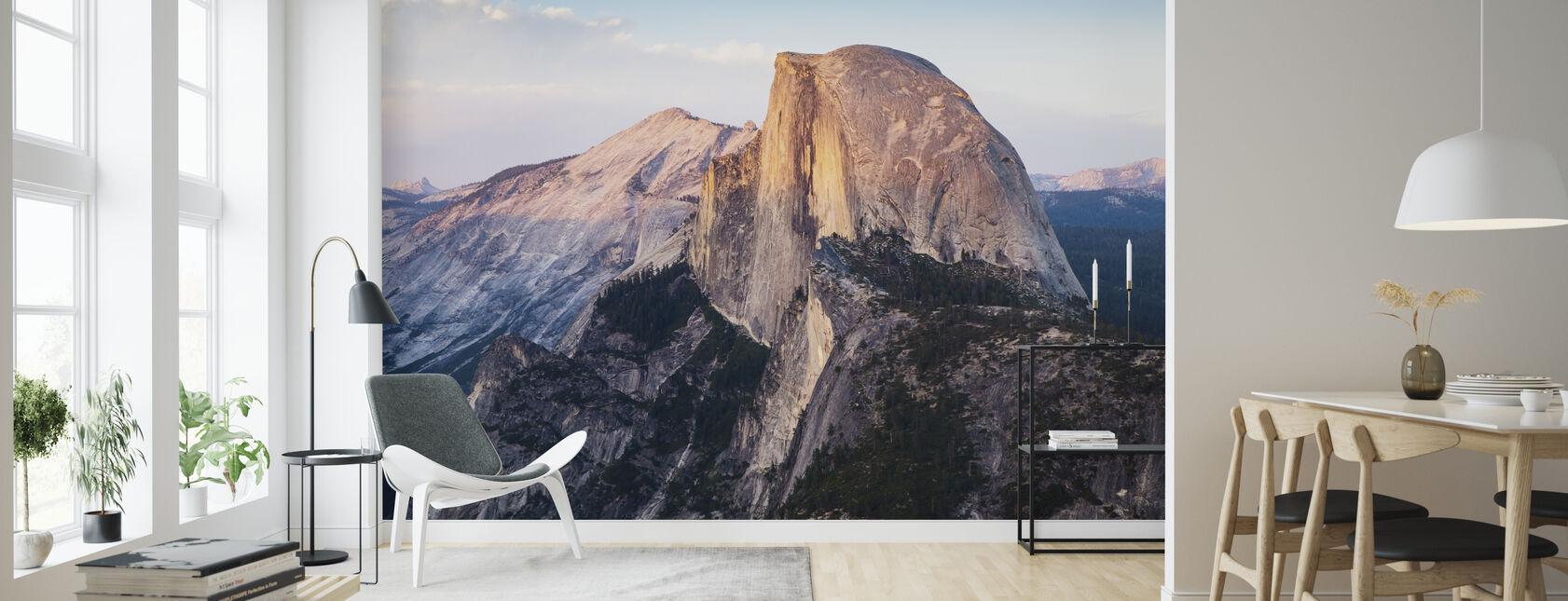 Halvdelen Dome Mountain - Tapet - Stue