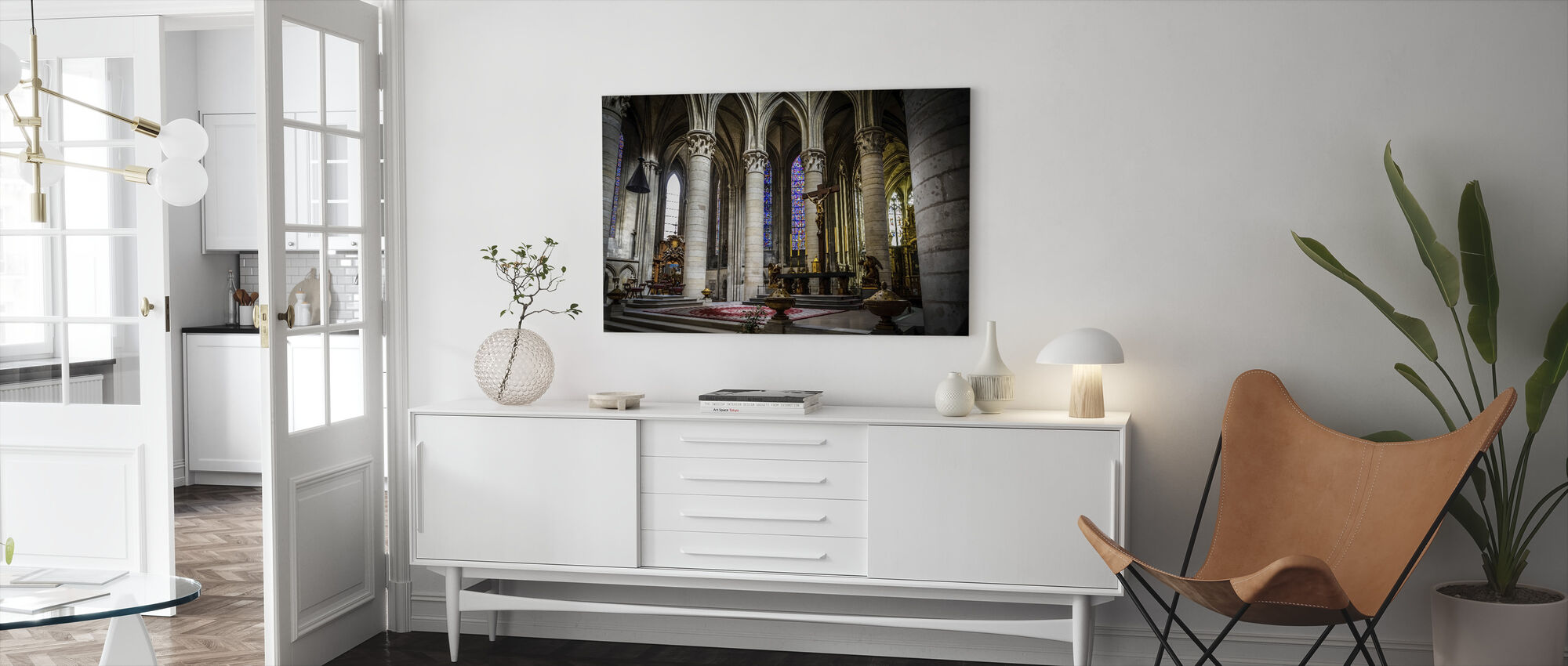 Church Altar - Canvas print - Living Room