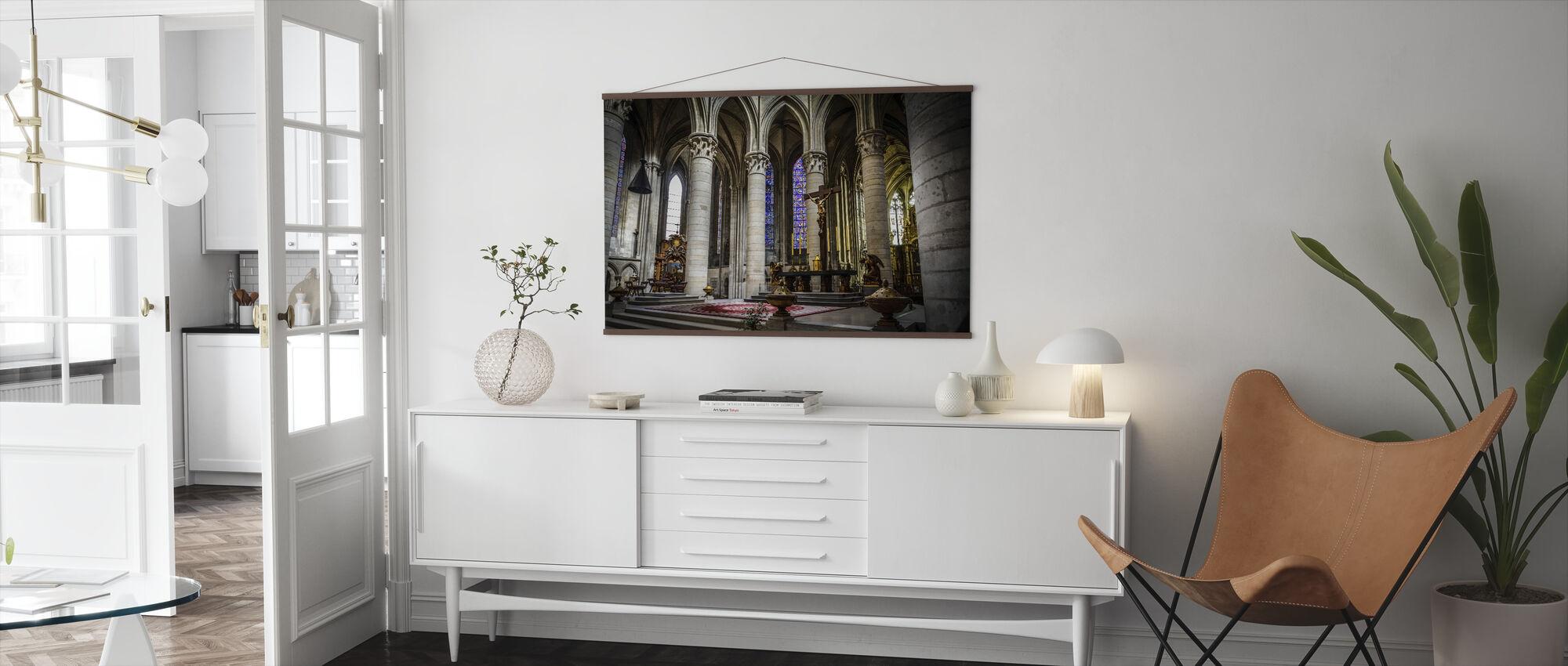 Church Altar - Poster - Living Room