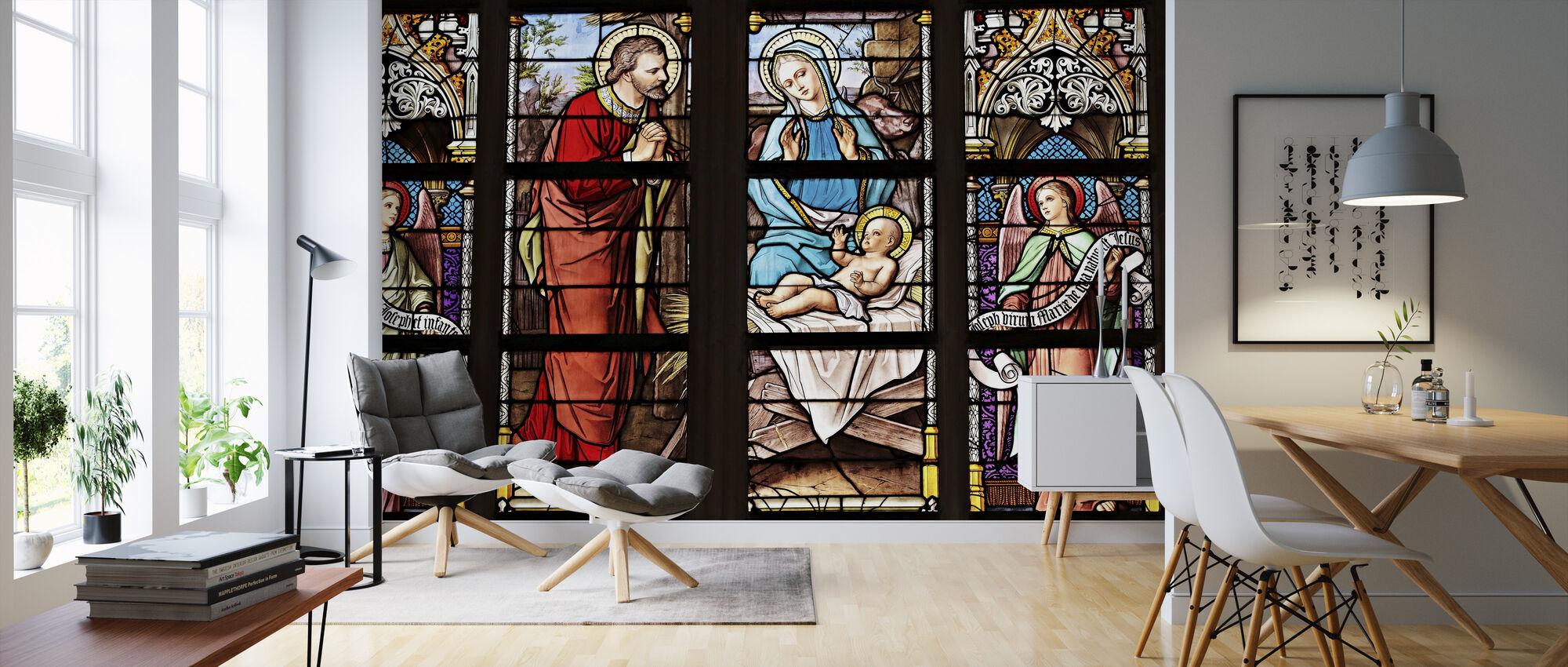 Church Window - Wallpaper - Living Room