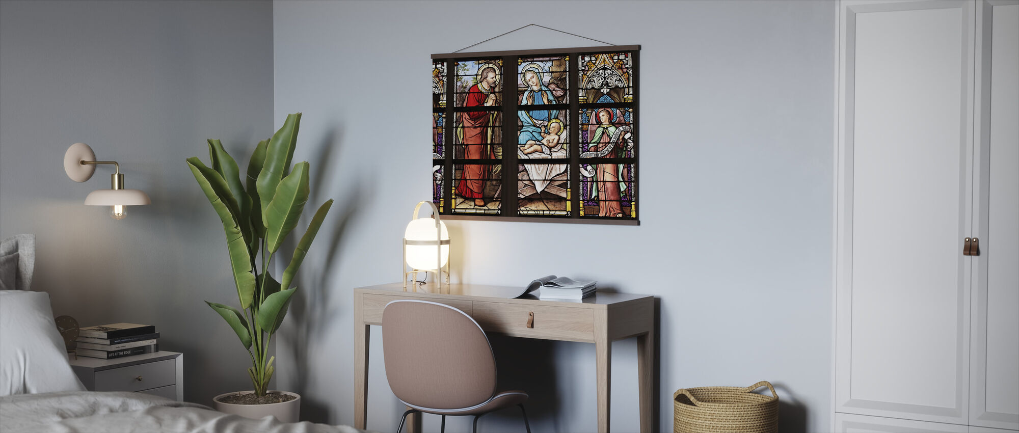 Church Window - Poster - Office