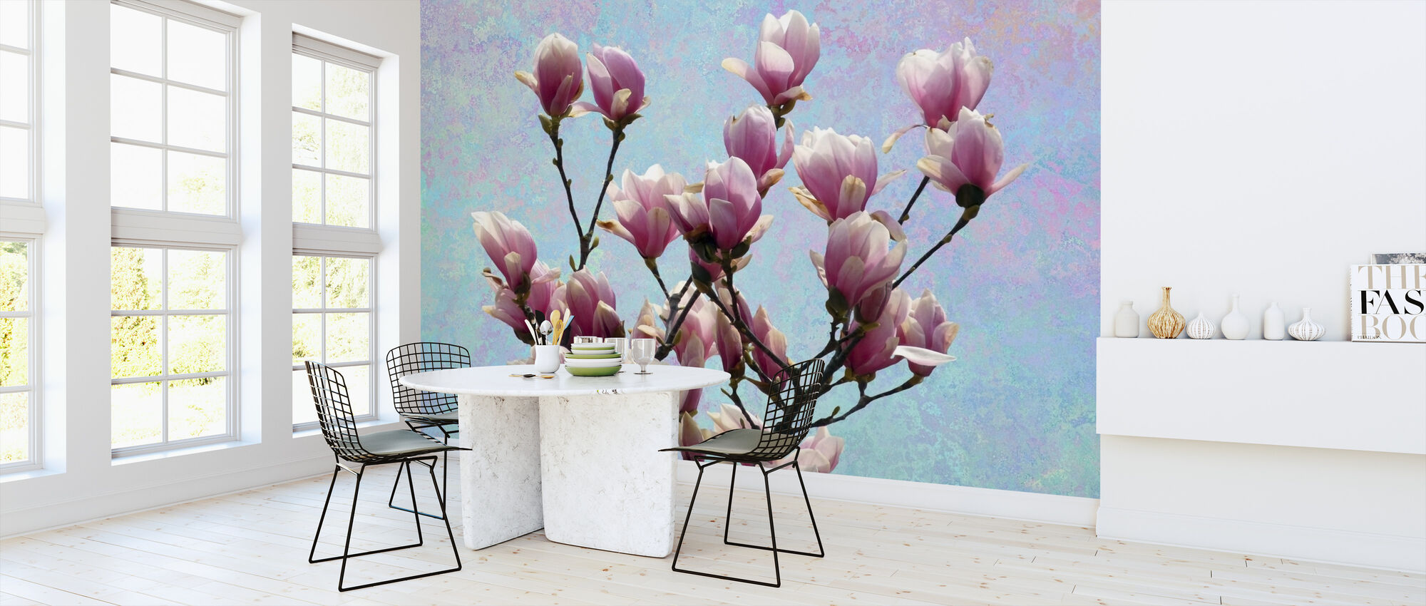 Magnolia Blossom - Wallpaper - Kitchen