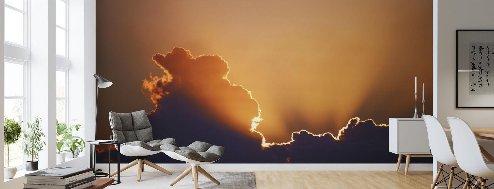 Golden Sky - Wallpaper - Living Room