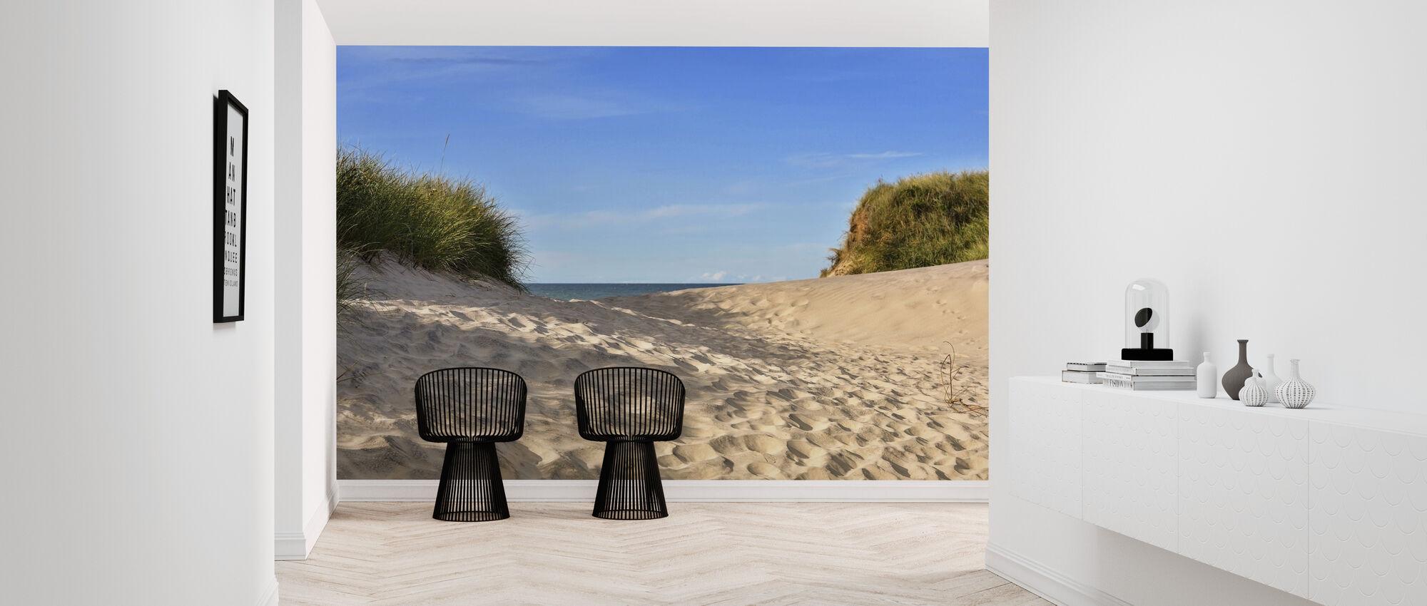 Beach Sand - Wallpaper - Hallway