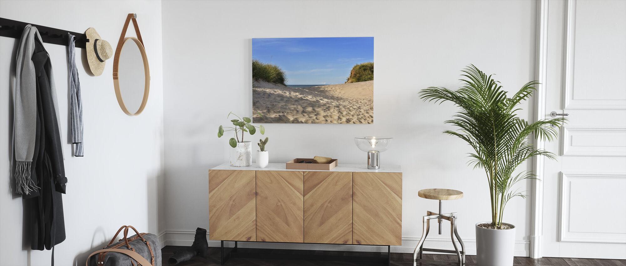 Strand Sand - Canvastavla - Hall