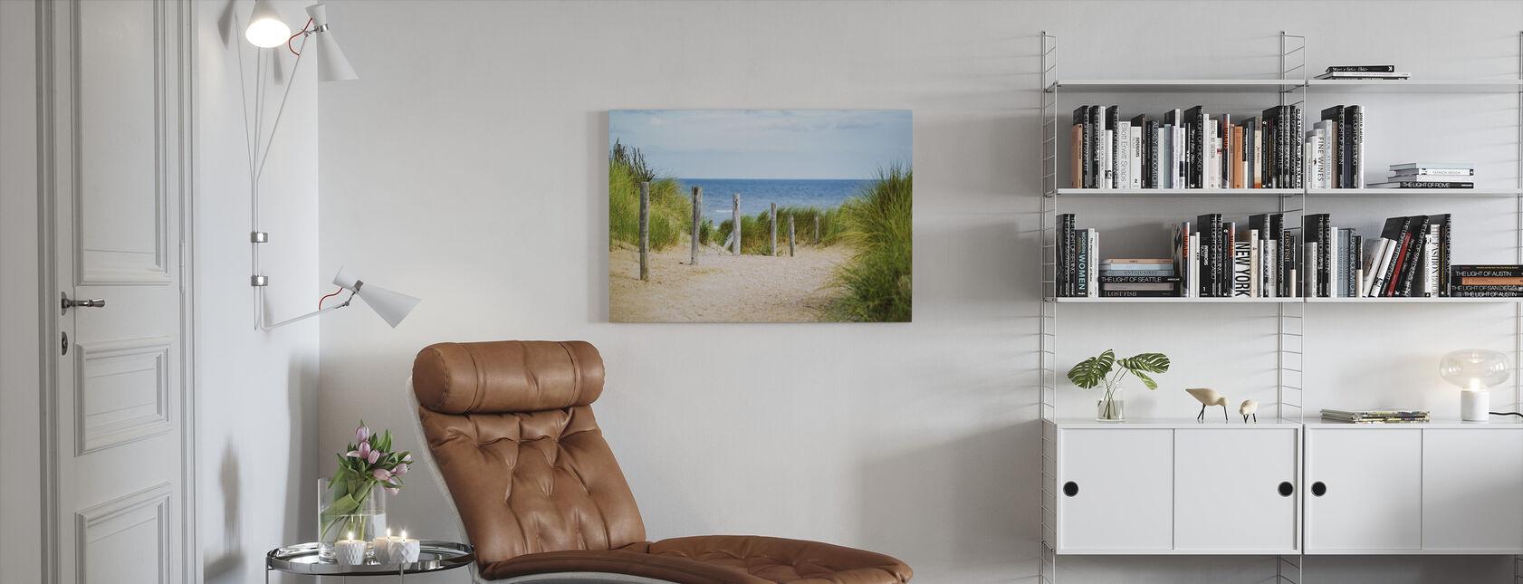 Strand Hegn - Billede på lærred - Stue