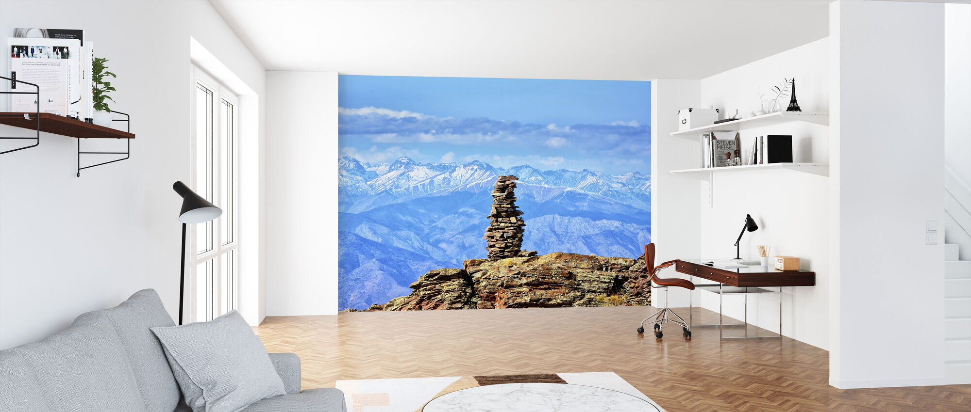 Mountain Highlands - Wallpaper - Office