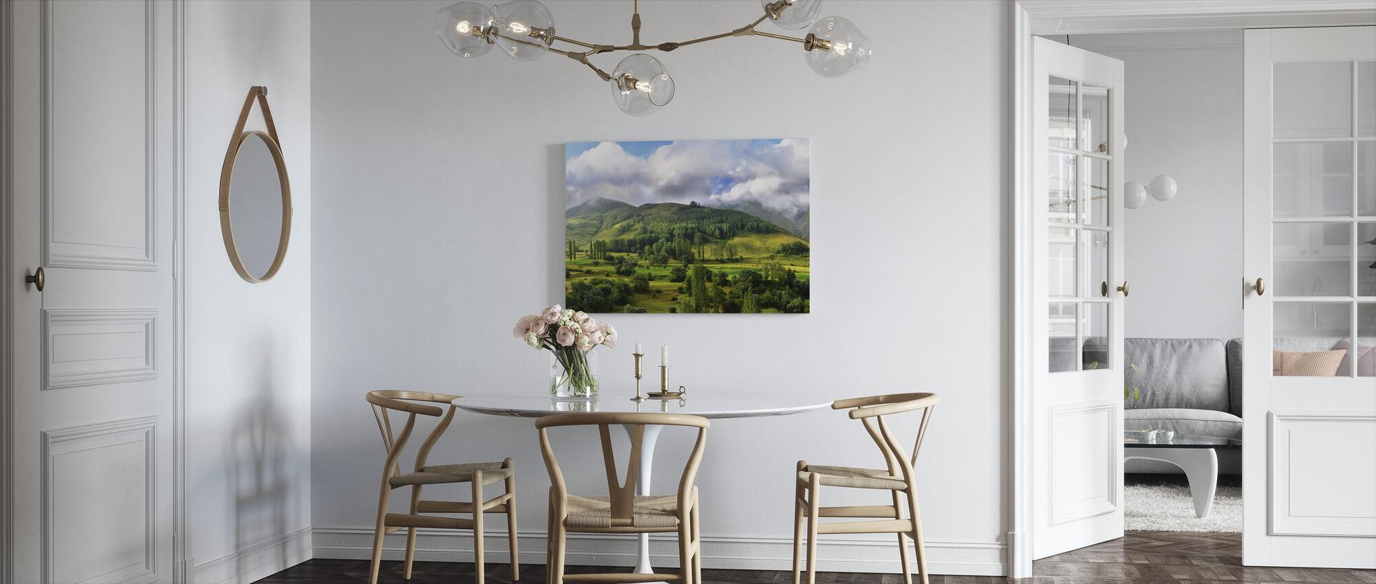 Hooglanden - Canvas print - Keuken