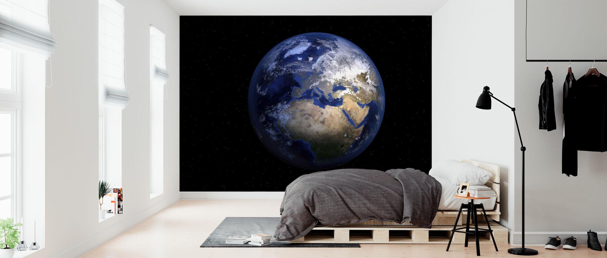Planet Jorden - Tapet - Soveværelse