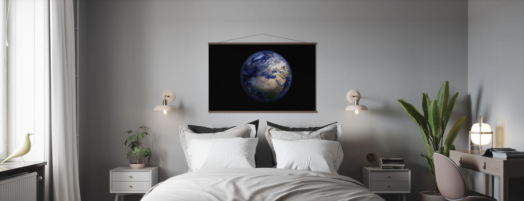 Planeetta Maa - Juliste - Makuuhuone