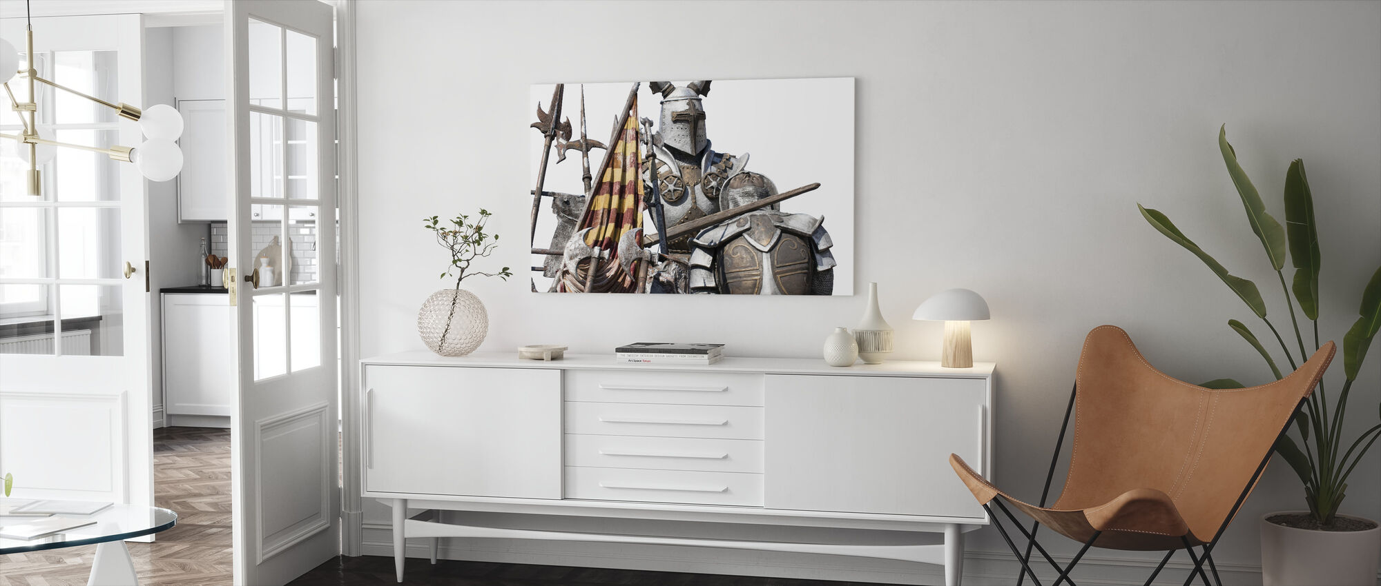 Medieval Monument - Canvas print - Living Room