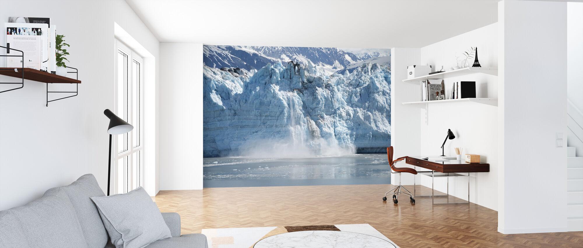 Gletsjer kalveren - Behang - Kantoor