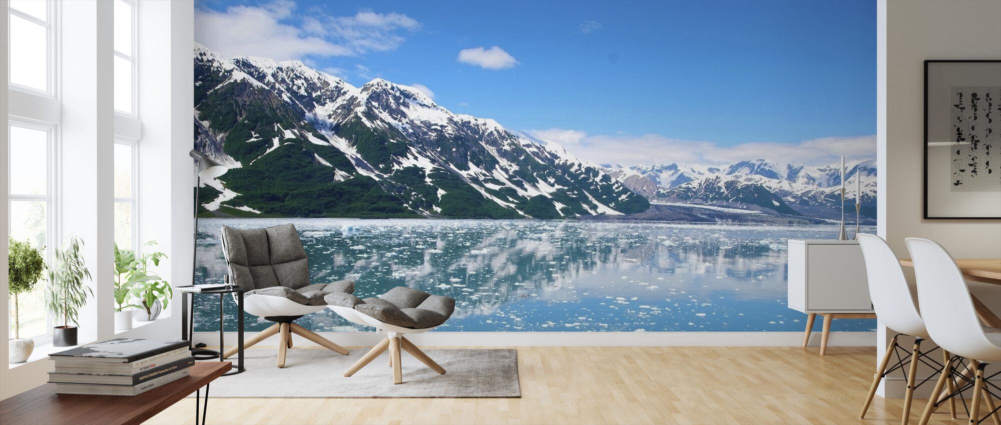 Alaska-fjellene - Tapet - Stue