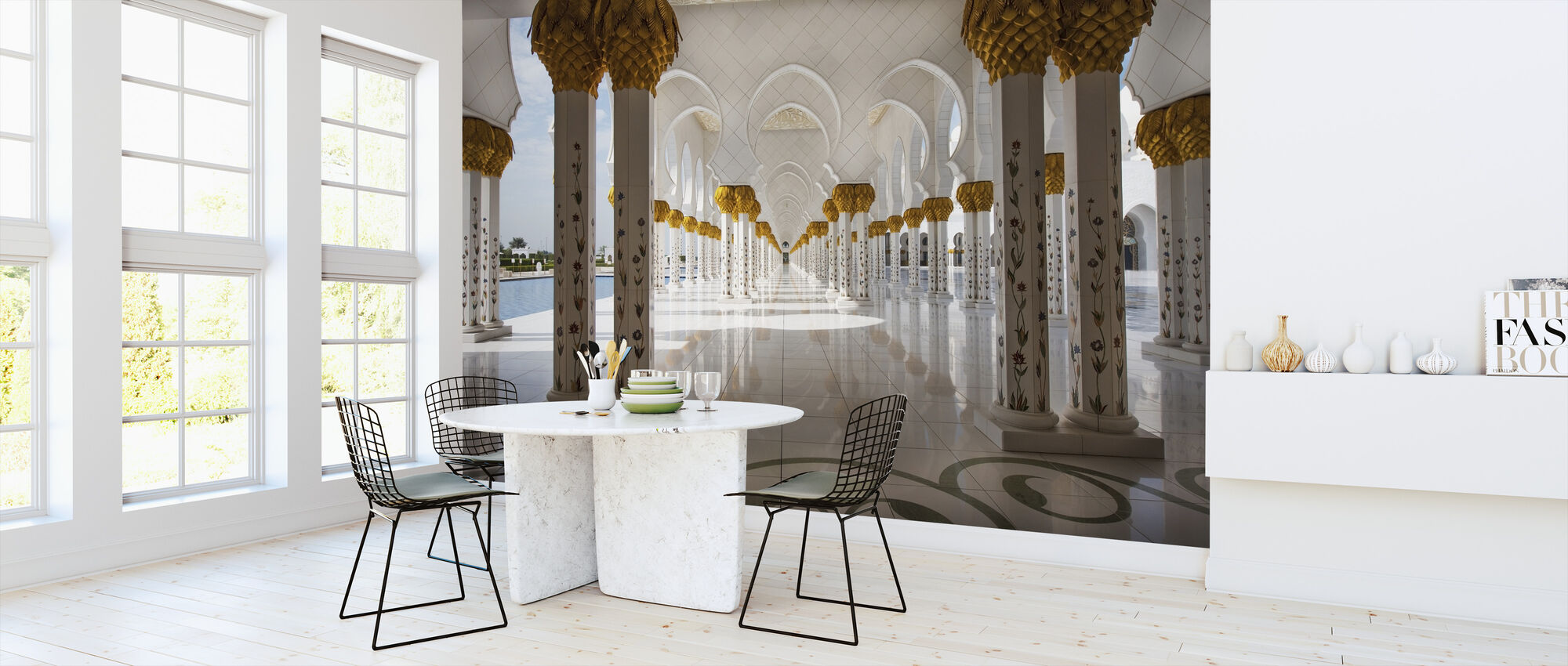 Abu Dhabi Mosque - Wallpaper - Kitchen