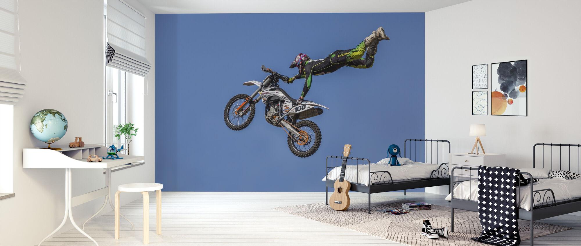 Extrema motorcykelsporter - Tapet - Barnrum