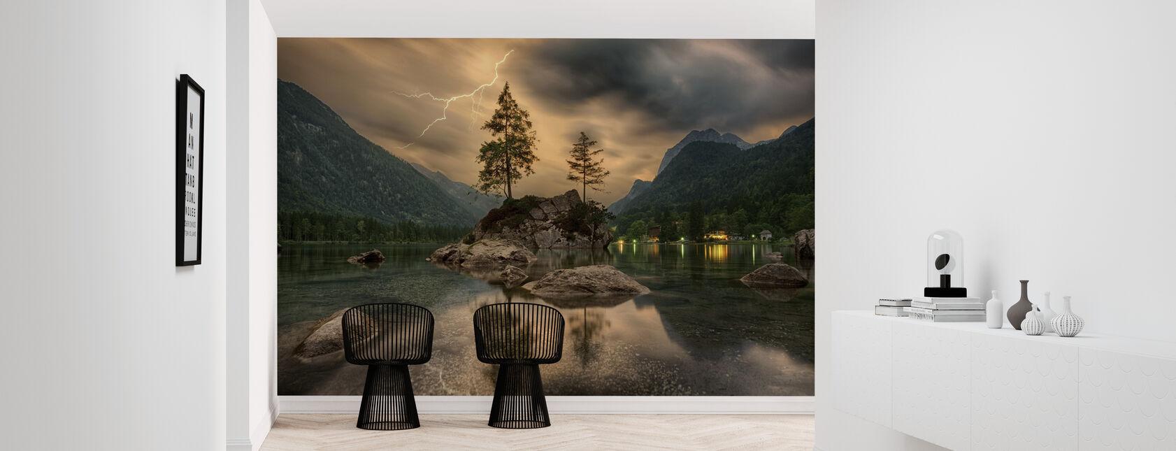 Lake Tree - Wallpaper - Hallway