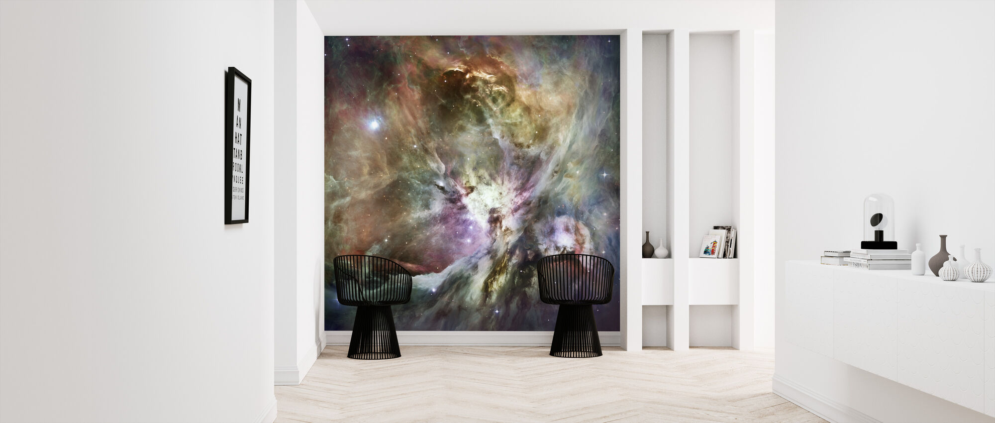 Orion Nebula - Wallpaper - Hallway