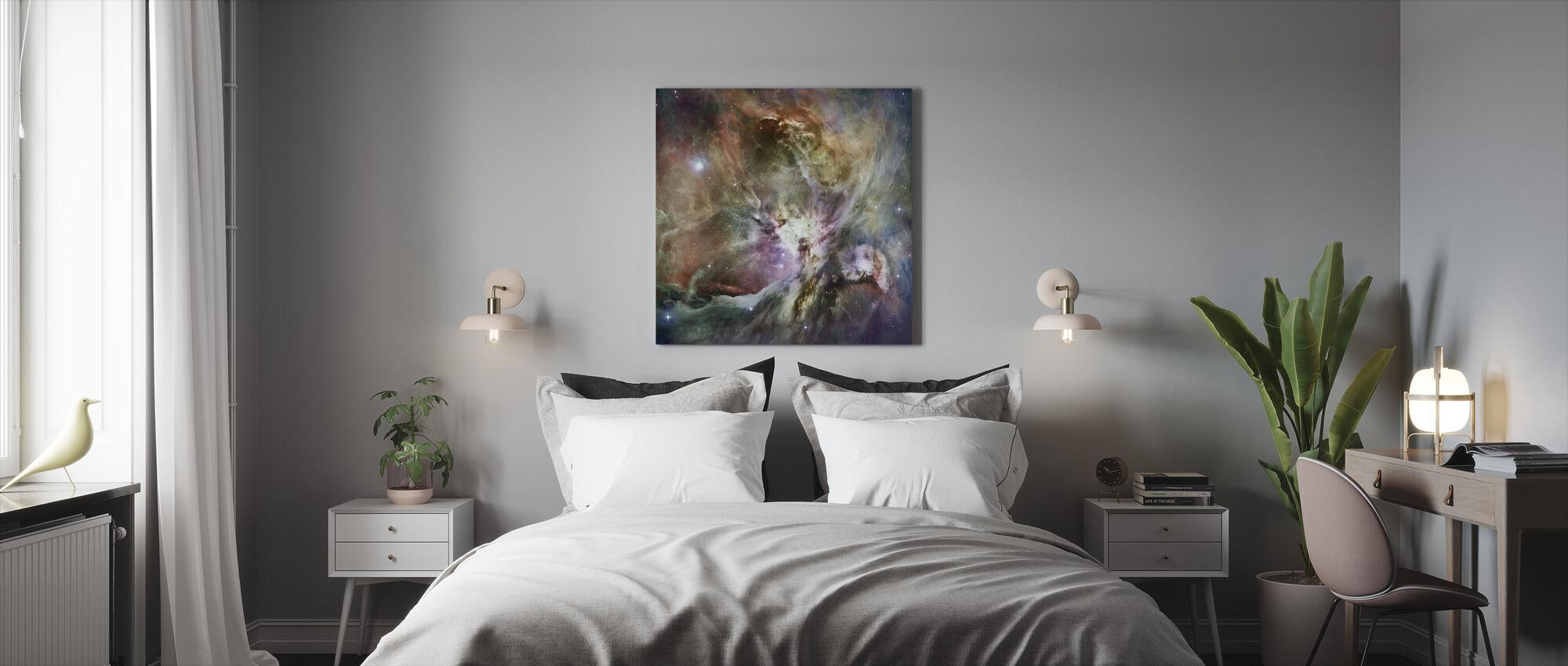 Orionin tähtisumu - Canvastaulu - Makuuhuone